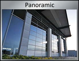 panoramic roller shutters