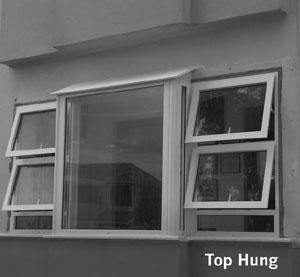 Upvc Top Hung Windows